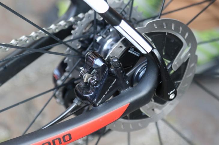 R9170系の電動油圧ディスクをほぼフルスペックイン