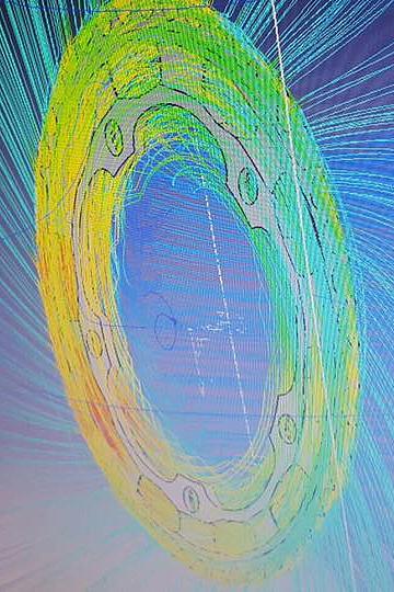 コンピューターによるエアロダイナミクスのシミュレーションを経てLami-Flow形状が決定