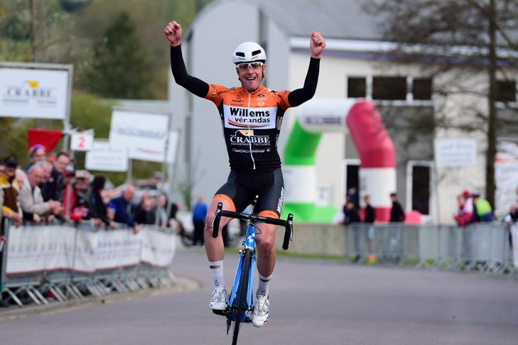 5区間中の2区間を制したボリス・ドロンは昨年までベルギーのプロコンチーム「ワンティ」に所属していた。圧倒的な力を見せたが第4ステージで大きく遅れ
