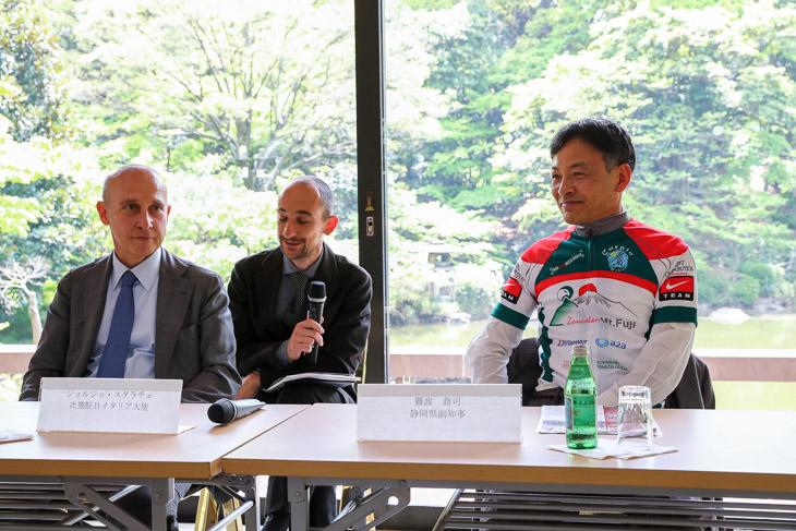 ジロの急坂ゾンコランを走るグランフォンドが8月に開催 静岡県と伊・フリウリ州の共催イベント