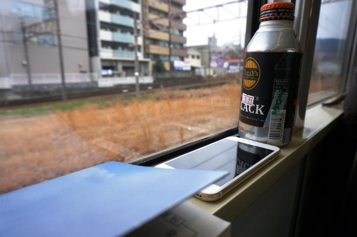 大津駅で抑止中。いつ出発するのか気が気じゃない!