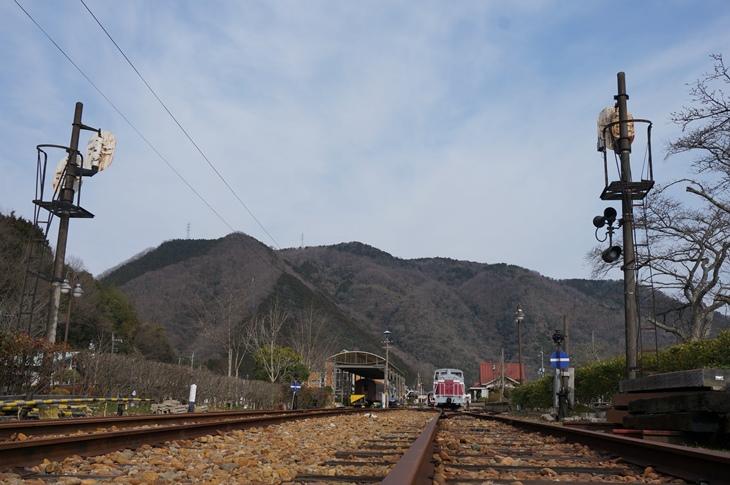 とても広い駅構内がそのまま残っていて、昔の栄華を感じさせてくれます