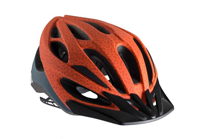 ボントレガー Solstice Asia Fit Helmet(Rorange/Pacific Blue)