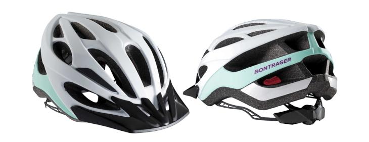 ボントレガー Solstice Asia Fit Helmet(White/Sprintmint、女性モデル)