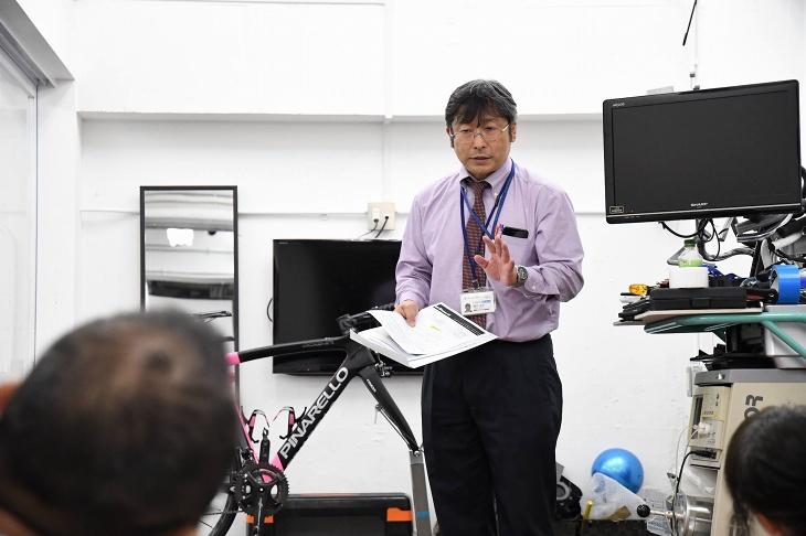 東武トップツアーズ樋沢さんによるツアー説明