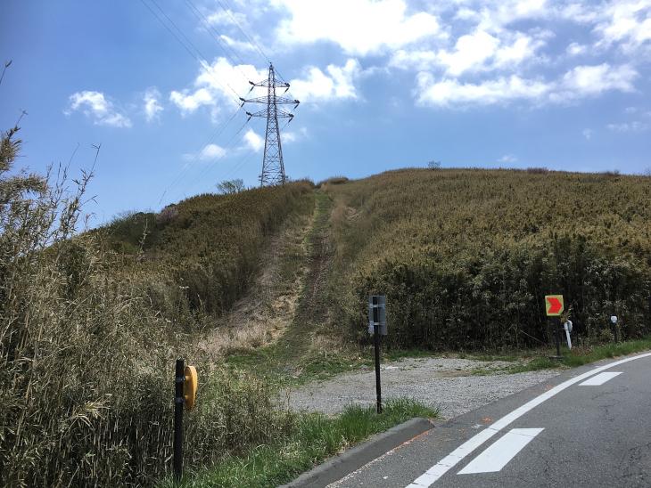 コースの脇道が気になる。ここ走れるのだろうか?