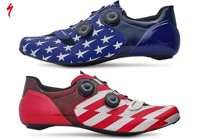 星条旗カラーが目を引くS-WORKS 6 RD SHOE USA LIMITED