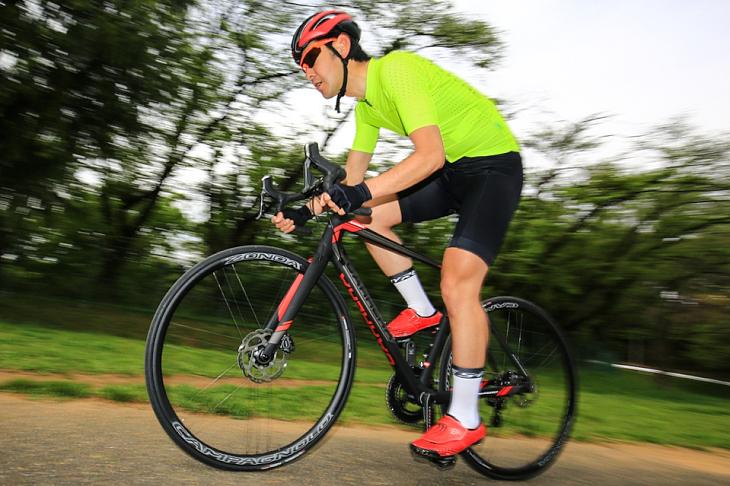「素直な反応性、加速性でストレスの少ないバイク」杉山友則(Bicicletta IL CUORE)