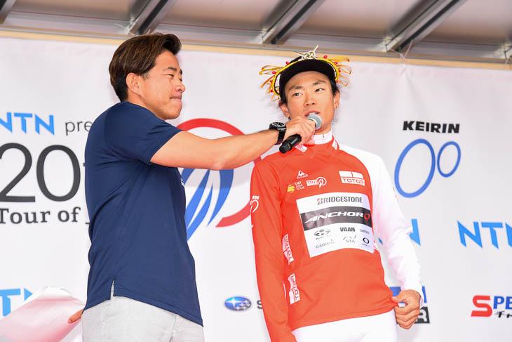 「山岳賞は2位以下じゃ認めてもらえない」と初山翔(ブリヂストンアンカーサイクリングチーム)