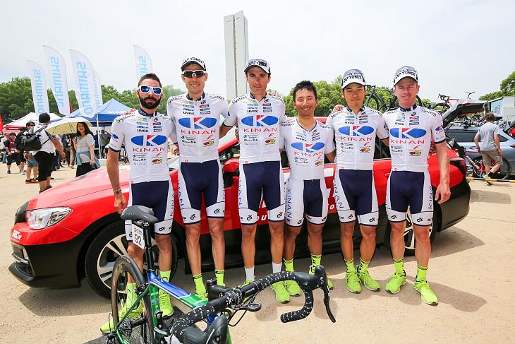 国内のみならずアジアやヨーロッパでも活動を続けるキナンサイクリングチーム