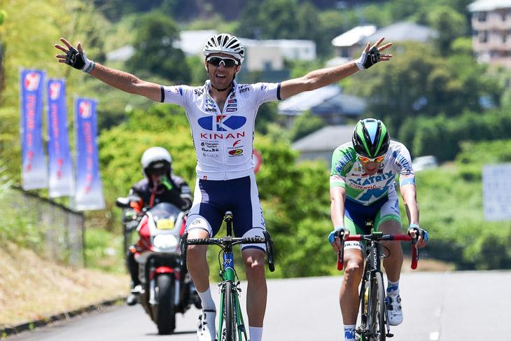 地元キナンのトマ・ルバが熊野山岳で勝利 総合リーダーはホセ・ビセンテに