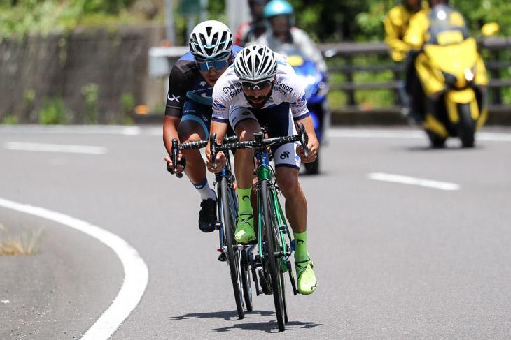 ツール・ド・熊野などで高い登坂能力を見せたマルコス・ガルシア(キナンサイクリングチーム)