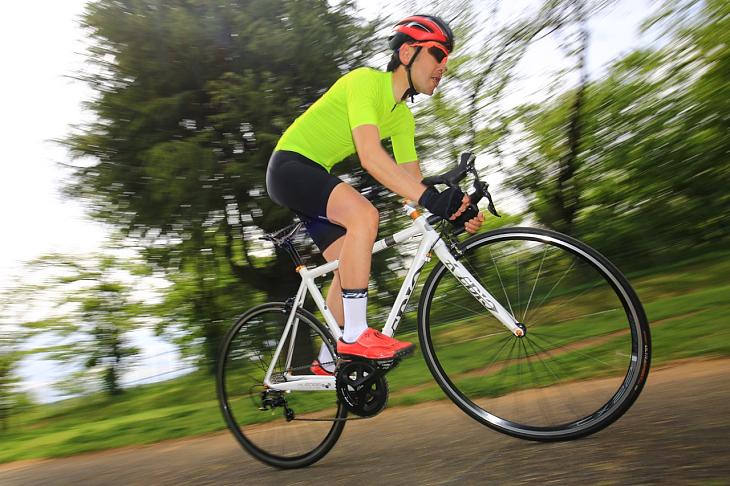「アルミロードバイクながらマイルドな乗り心地が印象的」杉山友則(Bicicletta IL CUORE)