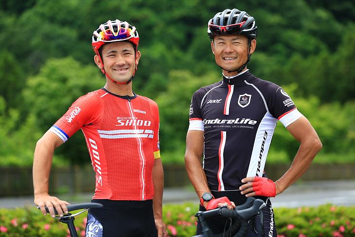 左:安藤光平さん(Bicicletta SHIDO) 右:竹谷賢二さん(エンデュアライフ)