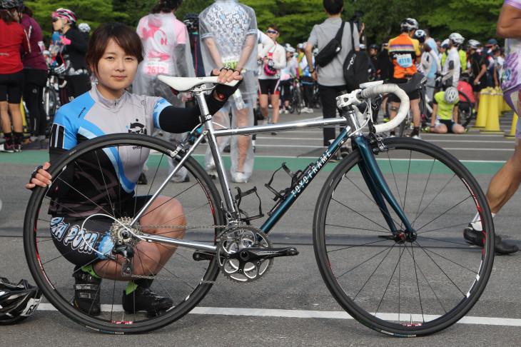 高橋絵美さん(ポタポタサイクルチーム)TOYO HYBRID ROAD
