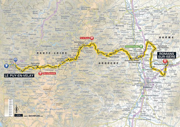 ツール・ド・フランス2017第16ステージ