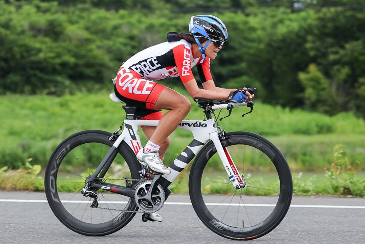 パラサイクリング 女子C1-5 1位 野口佳子(株式会社ウェルパーク)