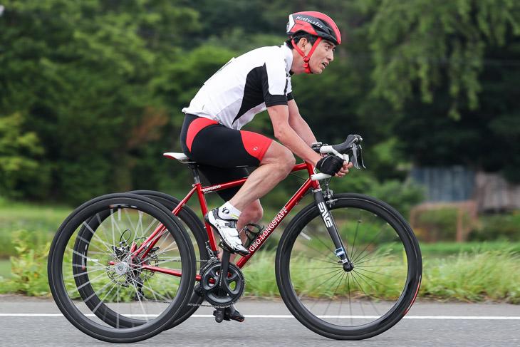 パラサイクリング トライサイクルT1-2 1位 小川睦彦(杉並区役所)