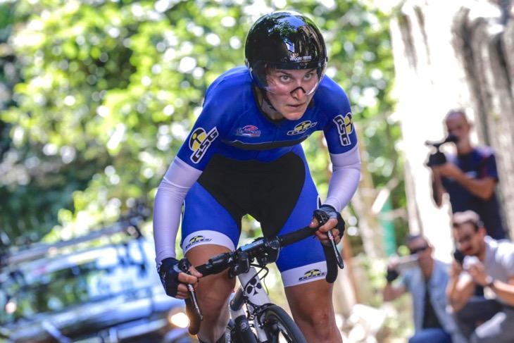ステージ3位、エリザ・ロンゴボルギーニ(イタリア、ウィグル・ハイファイブ)