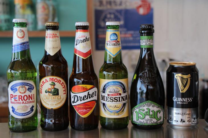 イタリアンブランドのビールたち