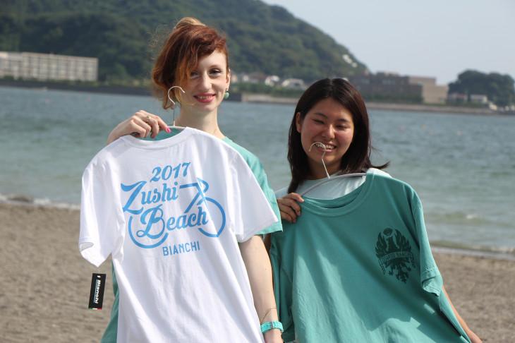 ビーチハウス限定のTシャツ