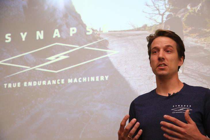 新型シナプスのコンセプトは「 TRUE ENDURANCE MACHINERY 」とジェームス・ラロンデ氏