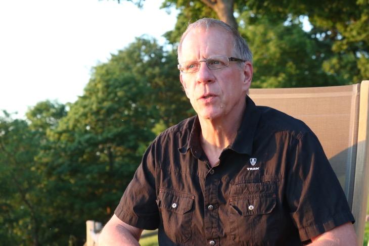 OCLVカーボンの生みの親であるジム・コールグローブ氏