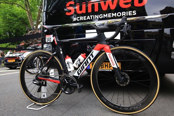 ツール・ド・フランスでマイケル・マシューズ(オーストラリア、サンウェブ)が駆ったPROPEL ADVANCED SLR Disc