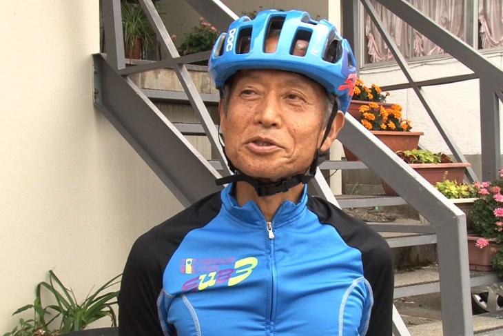 70歳で今なお現役サイクリストの高山信行さん