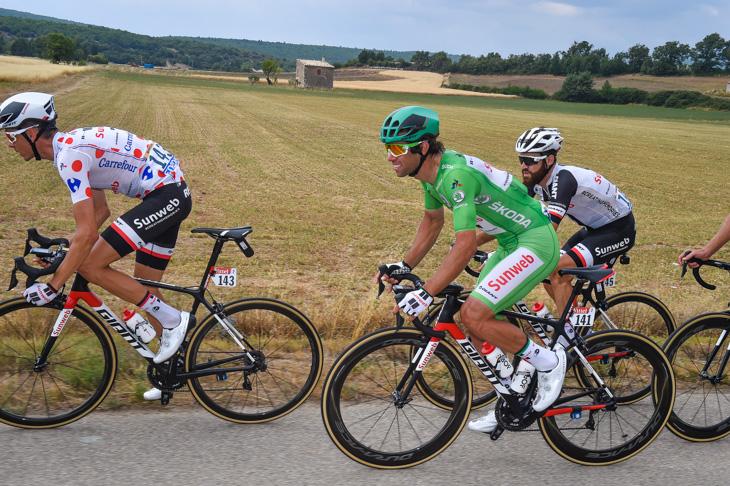 逃げグループから残り3kmでアタック ボアッソンハーゲンが念願の今大会初勝利