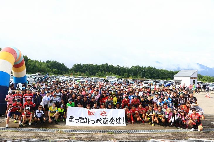今年もたくさんの人が集まりました!走ってみっぺ南会津