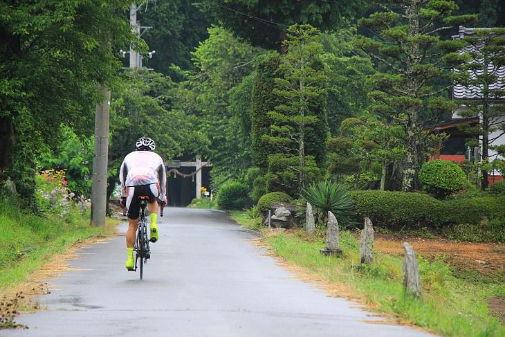 仏崎観音寺の参道はなんだかパワースポットのような雰囲気