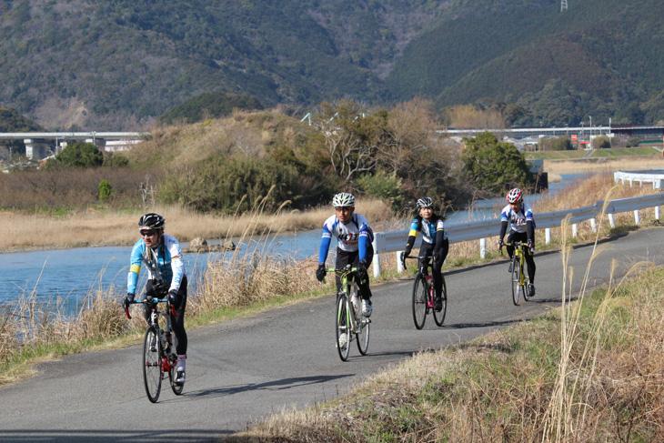 イベントコースは普段はすさみ町推奨のサイクリングルートになっていて、サイクリングマップも用意されている