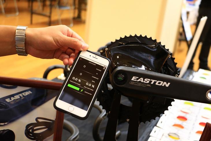 スマートフォンでパワー始め計測値の表示ができるCINCH Power Meter アプリもリリース