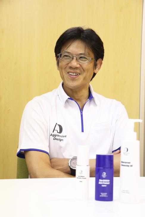 「アスリートは一般の方よりも活性酸素が多い。そこに注目した製品です」と柴田さん