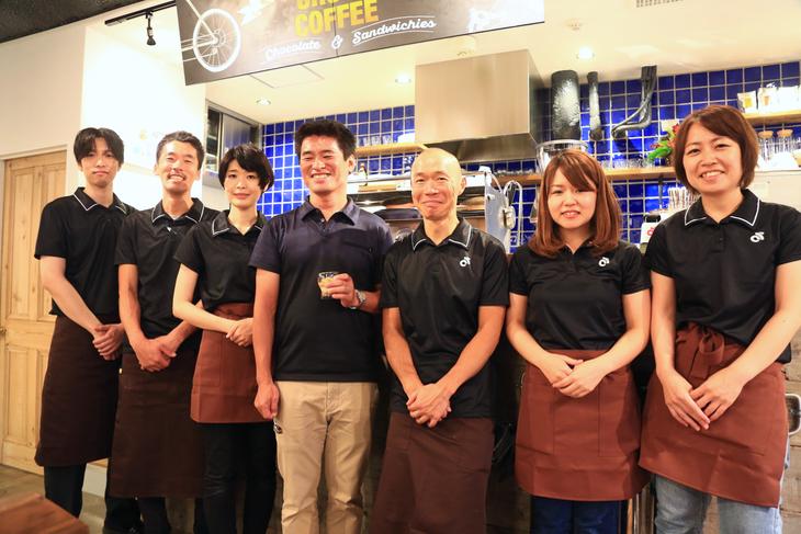 CROSS COFFEEのスタッフ