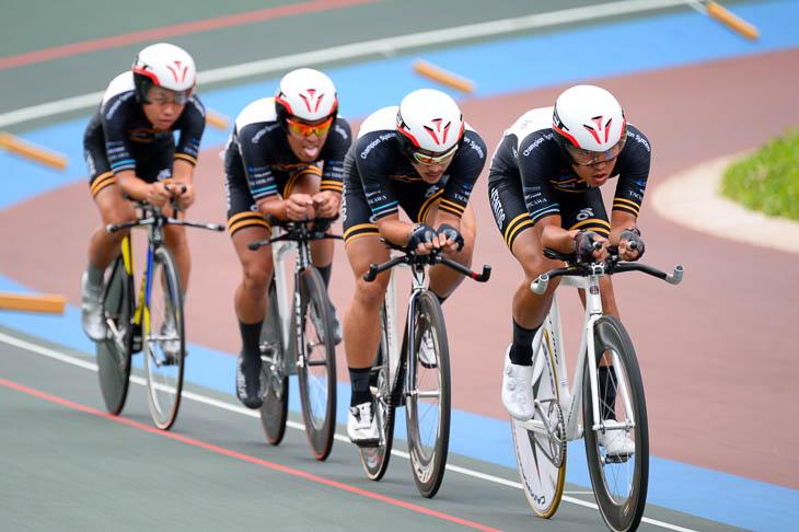 男子4kmチーム・パーシュート2位 東京ヴェントス 4分27秒571