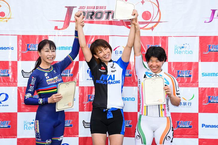 女子500mTT 表彰式