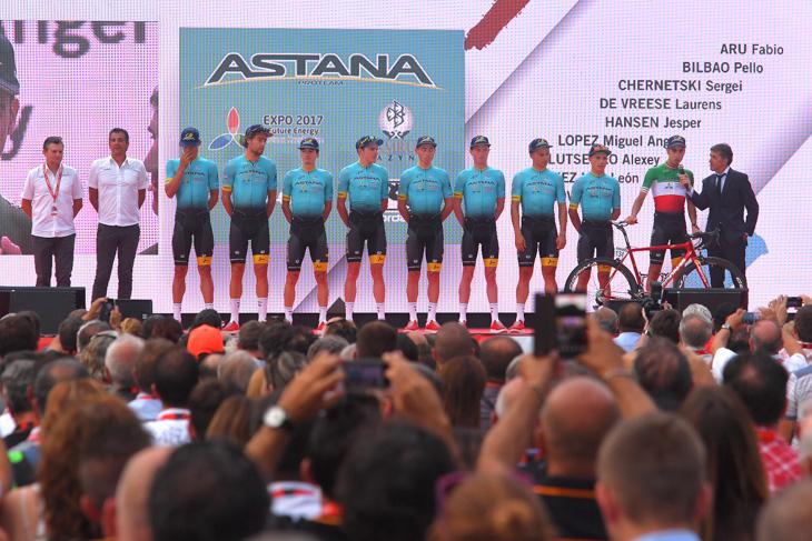 イタリアチャンピオンのアルとロペスで総合を狙うアスタナ