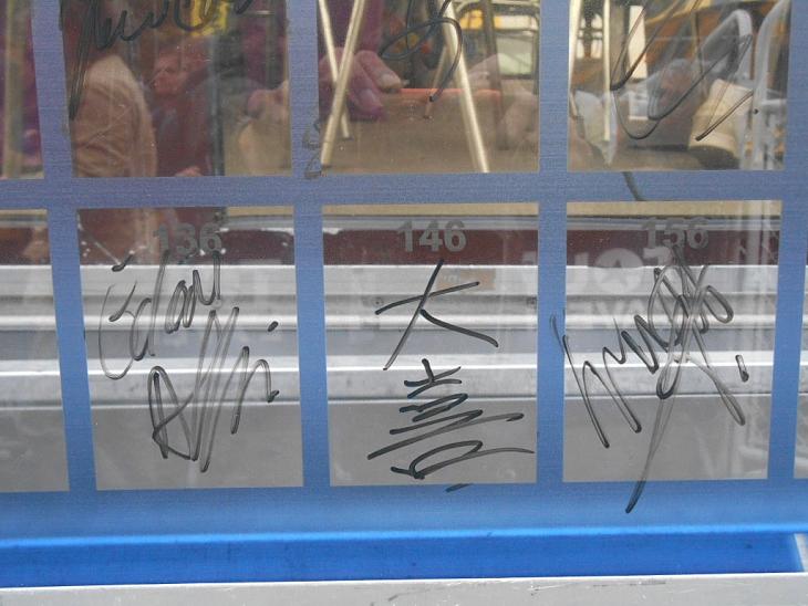 山本大喜のサインはこんな漢字(感じ)