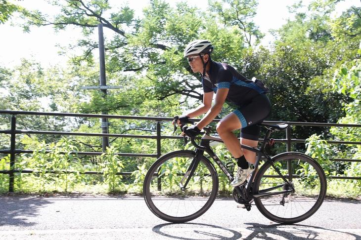 Émonda SLR 堀越「インナーで登りを走ると、いつもよりギアを1枚か2枚分軽く感じるほどの軽快さ」