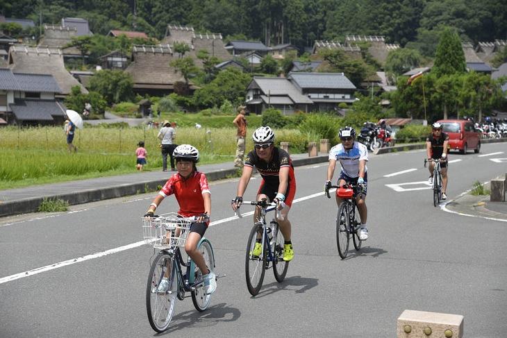 約1000人が参加した美山サイクルグリーンツアー