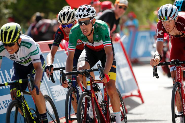 ファビオ・アル(イタリア、アスタナ)やエステバン・チャベス(コロンビア、オリカ・スコット)は1分44秒差でフィニッシュ