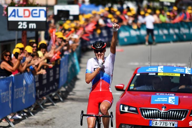 ステージ優勝を果たし面目躍如のシバコフ