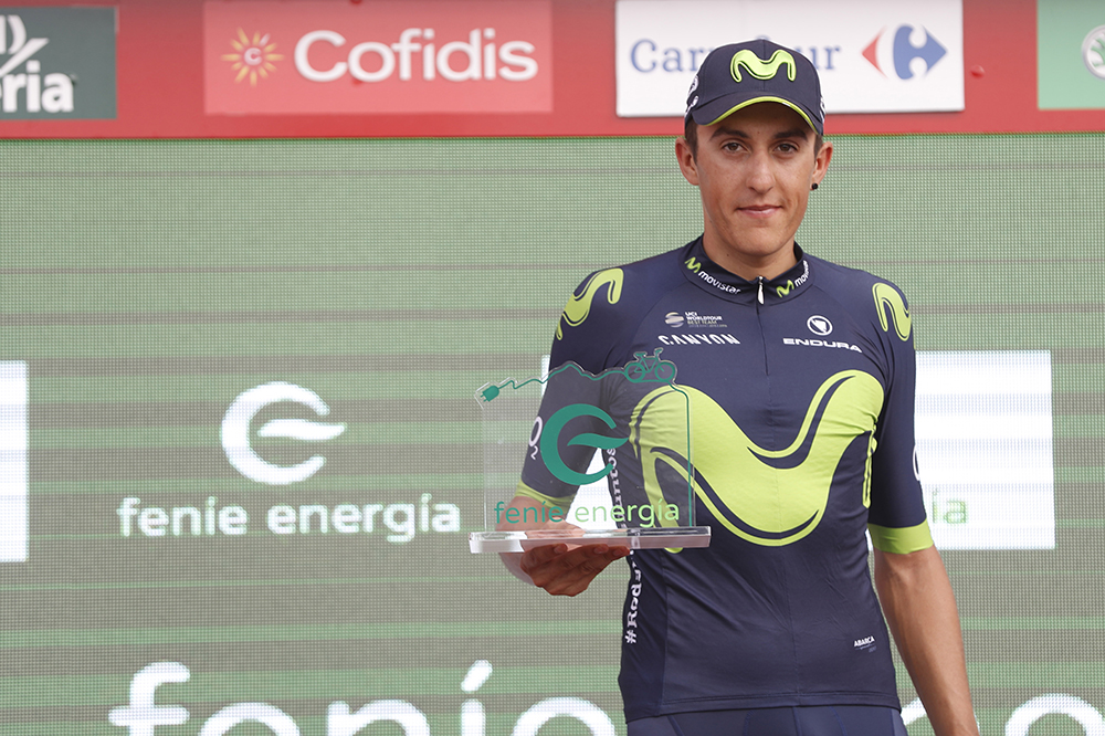 敢闘賞を獲得したマルク・ソレール(スペイン、モビスター)