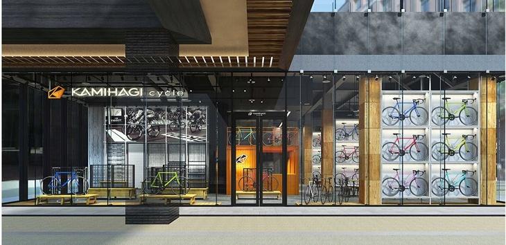 再開発が進むささしまライブ地区にカミハギサイクルが10月5日(木)オープン