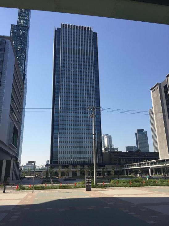 入居予定の複合商業施設「グローバルゲート」