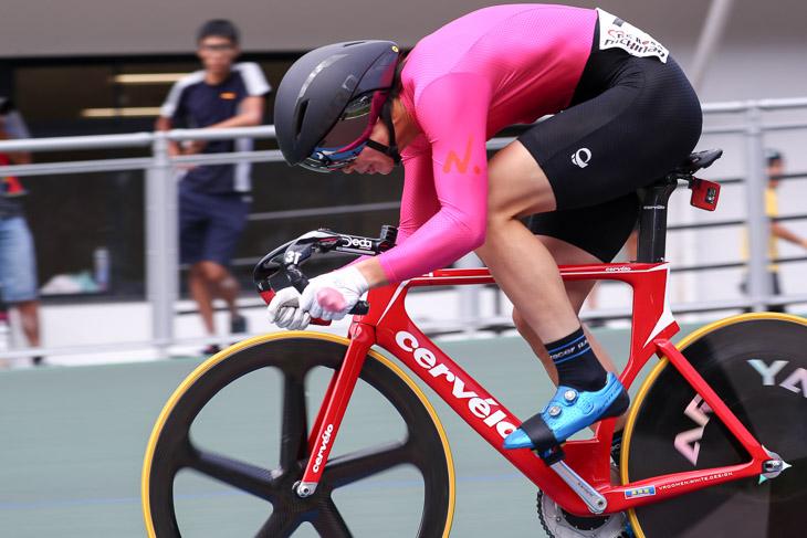 インカレ男子スプリント予選で沢田桂太郎(日本大)が10秒302の学連新を出す。スプリント力に期待