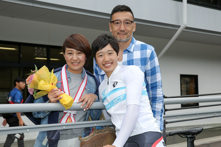 女子3冠達成の岡本二菜(日本体育大)