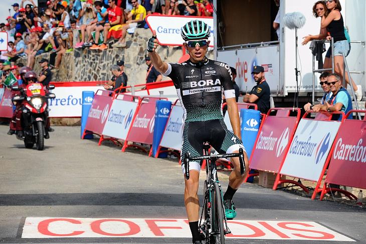 今季4勝目となったラファル・マイカ(ポーランド、ボーラ・ハンスグローエ)